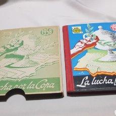 Coleccionismo deportivo: LUCHA POR LA COPA , 1958 EDICIONES DEPORTIVAS DINAMICO LIBRO CON SU FUNDA PRACTICAMENTE SIN USO. Lote 121323370