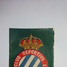 Coleccionismo deportivo: BIBLIOTECA INFANTIL DEPORTES N 7 REAL CLUB DEPORTIVO ESPAÑOL AÑOS 40. Lote 121549678