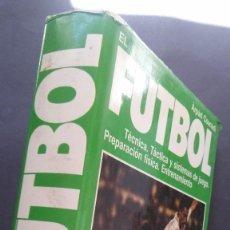 Coleccionismo deportivo: EL FÚTBOL-ARPÁD CSANÁDI-PRÓLOGO LADISLAO KUBALA-TÉCNICA-TÁCTICA Y SISTEMAS DE JUEGO. Lote 121575591