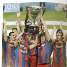 Coleccionismo deportivo: FUTBOL CLUB BARCELONA CONOCE SU HISTORIA - 3 TOMOS - 23 X 30 - TOTAL 452 PAGINAS - DICUR (VER FOTOS). Lote 121839727