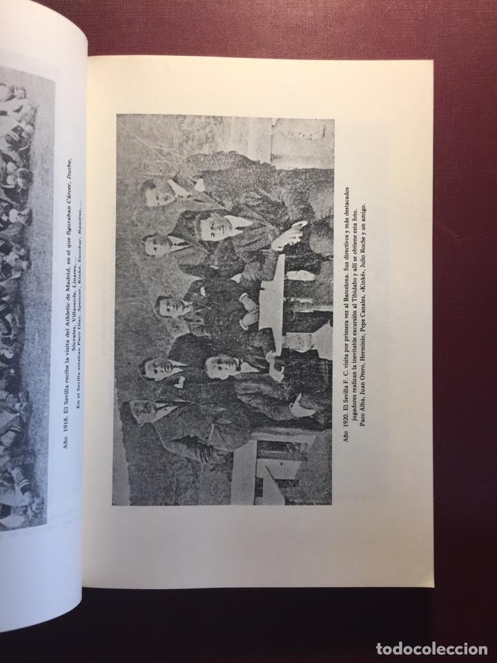 Coleccionismo deportivo: Libro: Sevilla F.C, 75 años de historia.(1905/1980). - Foto 4 - 121876031