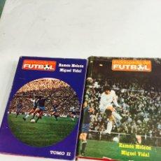 Coleccionismo deportivo: ENCICLOPEDIA DEL FULTBOL VOLUMEN 1 Y 2 COMPLETA. Lote 121906368