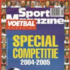 Coleccionismo deportivo: FOOT MAGAZINE. - SPECIAL COMPÉTITION 2004-2005 - EXTRALIGA/LEAGUEGUIDE.#. Lote 122621295