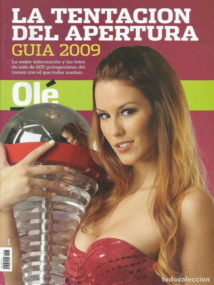 OLÉ. - GUÍA APERTURA 2009 - EXTRALIGA / LEAGUEGUIDE. # (Coleccionismo Deportivo - Libros de Fútbol)