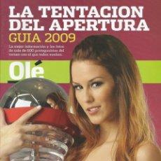 Coleccionismo deportivo: OLÉ. - GUÍA APERTURA 2009.. Lote 122621527