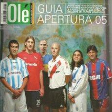 Coleccionismo deportivo: OLÉ. - GUÍA APERTURA 2005.. Lote 122621683