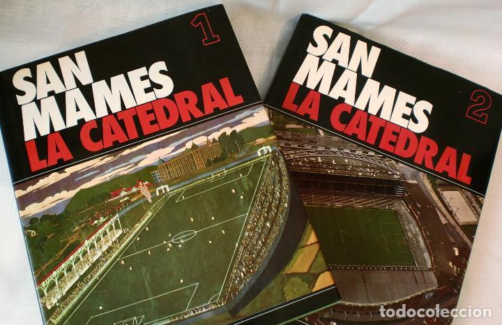 LOTE DE LOS 2 LIBROS: SAN MAMES, LA CATEDRAL - ATHLETIC CLUB DE BILBAO - (Coleccionismo Deportivo - Libros de Fútbol)