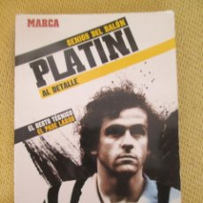 Coleccionismo deportivo: GENIOS DEL BALÓN MARCA PLATINI. Lote 122703167