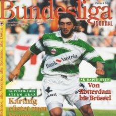 Coleccionismo deportivo: TOTO. - BUNDESLIGA JOURNAL 1996/1997. Lote 128245882
