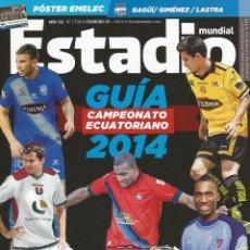 Coleccionismo deportivo: ESTADIO. - GUÍA 2014 - EXTRALIGA / LEAGUEGUIDE.#. Lote 122997475