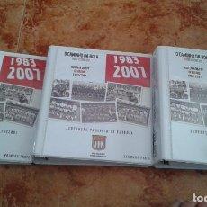 Coleccionismo deportivo: O CAMINHO DA BOLA 1983-2007. FEDERAZAO PAULISTA DE FUTEBOL. Lote 123029427