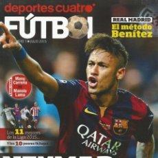Coleccionismo deportivo: DEPORTES CUATRO FÚTBOL. Nº 1 - REVISTA / MAG- #. Lote 123052511