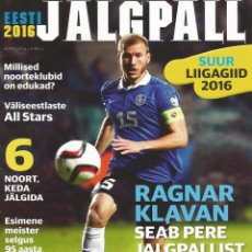 Coleccionismo deportivo: EESTI JALGPALL. - SUUR LIIGAGIID 2016. #. Lote 123054103