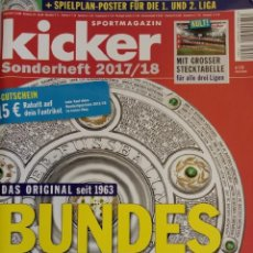 Coleccionismo deportivo: KICKER. - BUNDESLIGA SONDERHEFT 2017/18 - EXTRALIGA / LEAGUEGUIDE. Lote 123056631