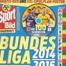 Coleccionismo deportivo: SPORT BILD. - BUNDESLIGA 2014/2015 - EXTRALIGA / LEAGUEGUIDE. #. Lote 123057163