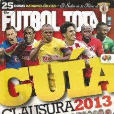 Coleccionismo deportivo: FÚTBOL TOTAL. - GUÍA CLAUSURA 2013 - EXTRALIGA / LEAGUEGUIDE.#. Lote 123067247