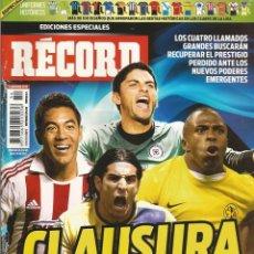 Coleccionismo deportivo: RÉCORD. - GUÍA CLAUSURA 2013 - EXTRALIGA / LEAGUEGUIDE. #. Lote 123067467