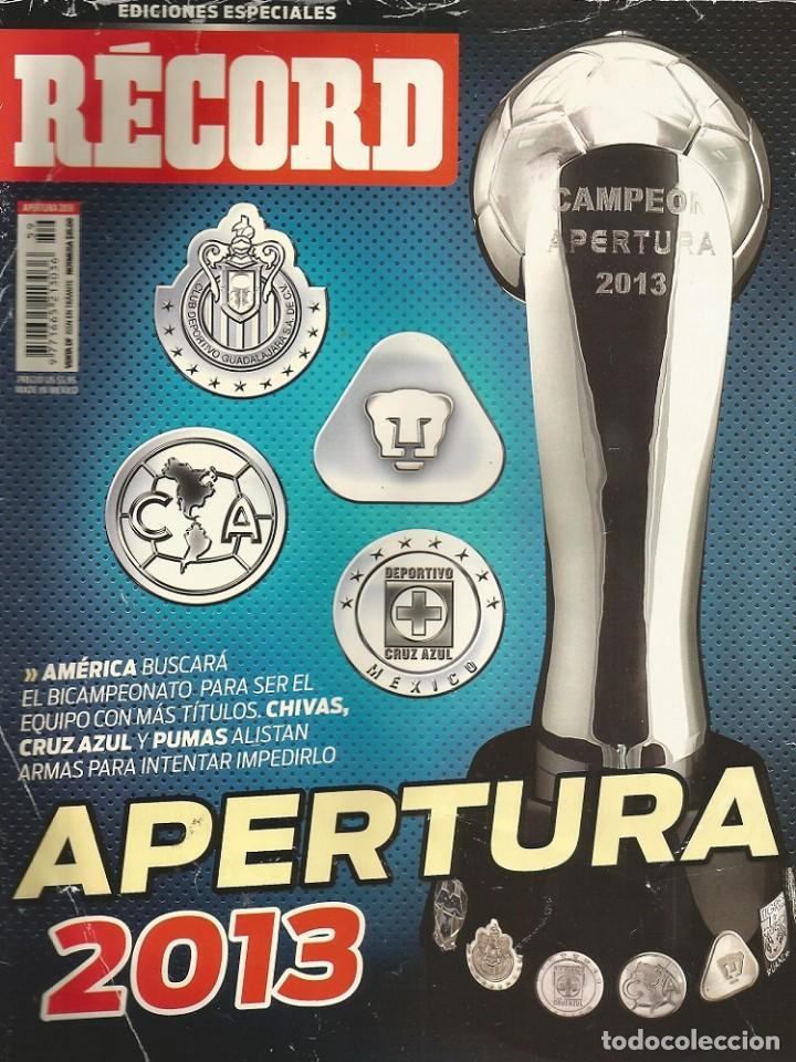 RÉCORD. - GUÍA APERTURA 2013 - EXTRALIGA / LEAGUEGUIDE. # (Coleccionismo Deportivo - Libros de Fútbol)