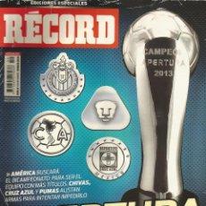 Coleccionismo deportivo: RÉCORD. - GUÍA APERTURA 2013 - EXTRALIGA / LEAGUEGUIDE. #. Lote 123067591