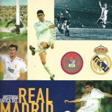 Coleccionismo deportivo: V15- LIBRO ALBUM, HISTORIA GRAFICA DEL REAL MADRID, COMPLETO, AS 1997. Lote 123527391