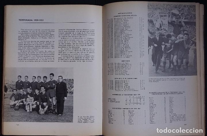 Coleccionismo deportivo: BARÇA, BARÇA, BARÇA HISTORIA DEL C. DE F, BARCELONA - 1971 - EDITORIAL LA GRAN ENCICLOPEDIA VASCA - Foto 6 - 124964883