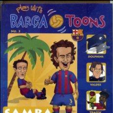 Coleccionismo deportivo: PLAY WITN BARÇA TOONS Nº 3. Lote 125333059
