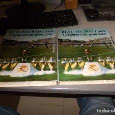 Coleccionismo deportivo: REAL MADRID C. DE F. (HISTORIA DE UN GRAN CLUB), DOS TOMOS. 1.984. Lote 125439955