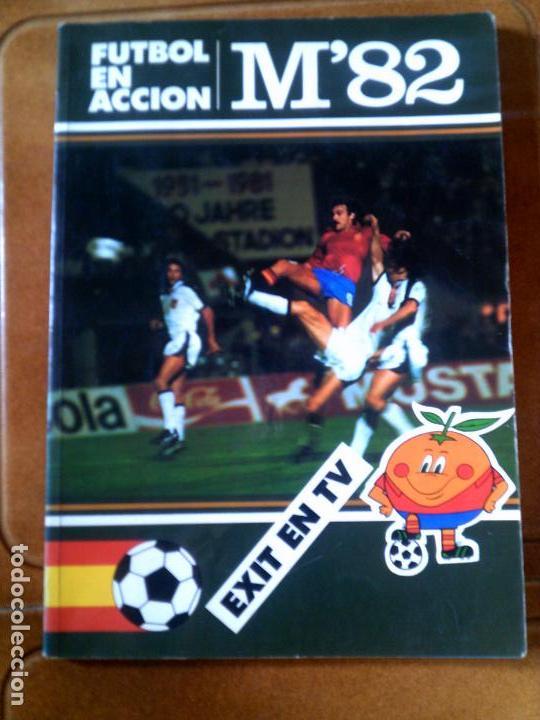 LIBRO MUNDIAL 82 MATEU CROMO S,A 1982 CARICATURAS DEL MUNDIAL EN CATALA (Coleccionismo Deportivo - Libros de Fútbol)