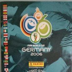 Coleccionismo deportivo: ALBUM PANINI. -FIFA WORLD CUP GERMANY 2006- . COL. COMPLETA / COMPLETE COL.. Lote 148056850