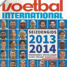 Coleccionismo deportivo: VOETBAL INTERNATIONAL. SEIZOENGIDS 2013-2014 - EXTRALIGA / LEAGUEGUIDE. #. Lote 126161403