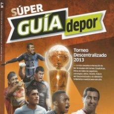 Coleccionismo deportivo: EL COMERCIO. - GUÍA TORNEO DESCENTRALIZADO 2013.#. Lote 126162183