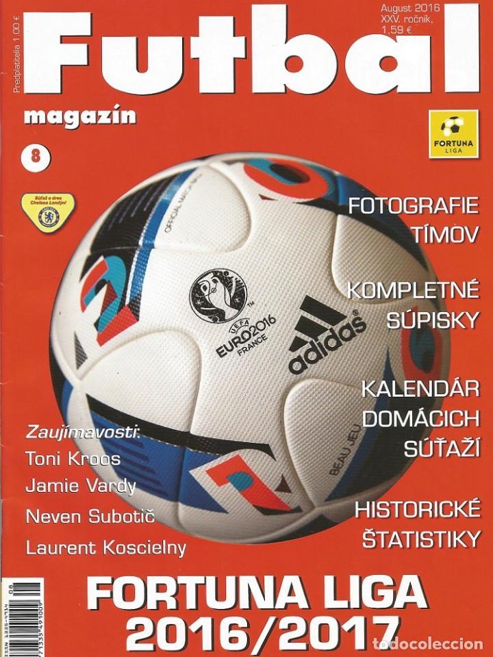FUTBAL MAGAZIN. - FORTUNA LIGA 2016/2017. - EXTRALIGA / LEAGUEGUIDE.# (Coleccionismo Deportivo - Libros de Fútbol)