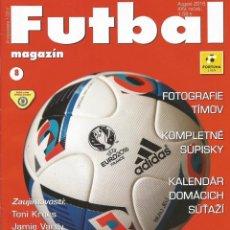 Coleccionismo deportivo: FUTBAL MAGAZIN. - FORTUNA LIGA 2016/2017. - EXTRALIGA / LEAGUEGUIDE.#. Lote 126164255