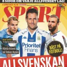 Coleccionismo deportivo: SPORT EXPRESSEN MAGAZINE. - ALLSVENSKAN 2016 - EXTRALIGA / LEAGUEGUIDE. #. Lote 126164391