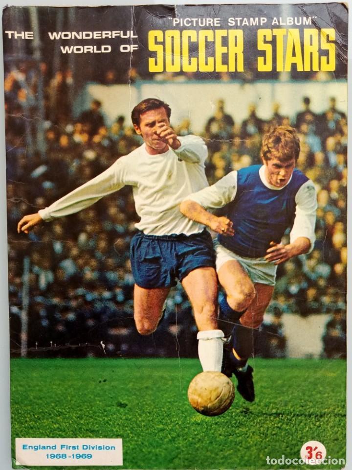 ALBUM FKS PICTURE STAMP. - THE WONDERFUL WORLD OF SOCCER STARS 1968-1969. # (Coleccionismo Deportivo - Libros de Fútbol)