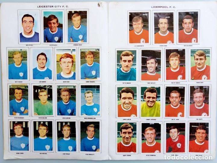 Coleccionismo deportivo: ALBUM FKS PICTURE STAMP. - THE WONDERFUL WORLD OF SOCCER STARS 1968-1969. # - Foto 2 - 126166795