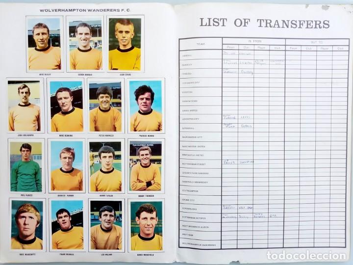 Coleccionismo deportivo: ALBUM FKS PICTURE STAMP. - THE WONDERFUL WORLD OF SOCCER STARS 1968-1969. # - Foto 3 - 126166795