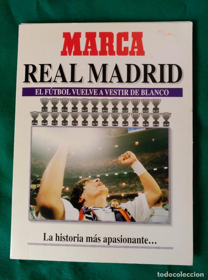 REAL MADRID DE 1928 A 1995 - 7 FASCICULOS - VER DESCRIPCION Y FOTOGRAFIAS (Coleccionismo Deportivo - Libros de Fútbol)