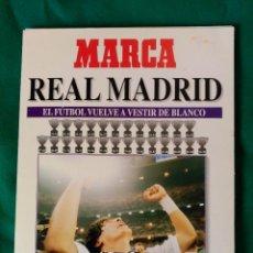 Coleccionismo deportivo: REAL MADRID DE 1928 A 1995 - 7 FASCICULOS - VER DESCRIPCION Y FOTOGRAFIAS. Lote 126168775