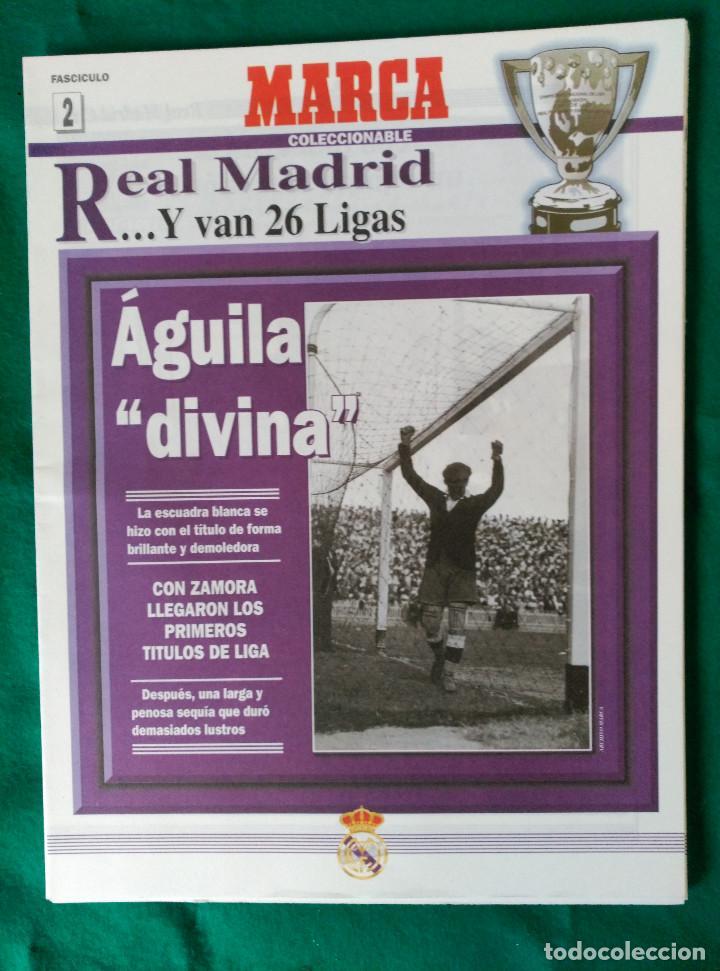 Coleccionismo deportivo: REAL MADRID DE 1928 A 1995 - 7 FASCICULOS - VER DESCRIPCION Y FOTOGRAFIAS - Foto 3 - 126168775