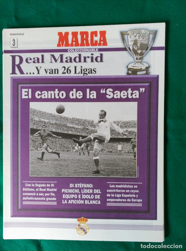 Coleccionismo deportivo: REAL MADRID DE 1928 A 1995 - 7 FASCICULOS - VER DESCRIPCION Y FOTOGRAFIAS - Foto 4 - 126168775