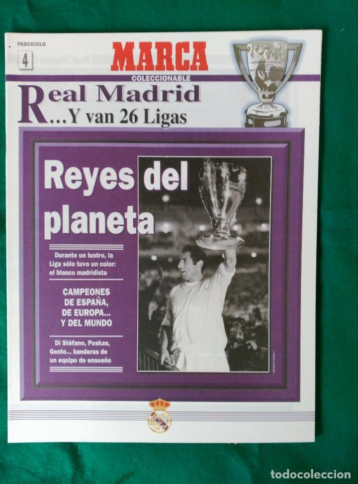 Coleccionismo deportivo: REAL MADRID DE 1928 A 1995 - 7 FASCICULOS - VER DESCRIPCION Y FOTOGRAFIAS - Foto 5 - 126168775