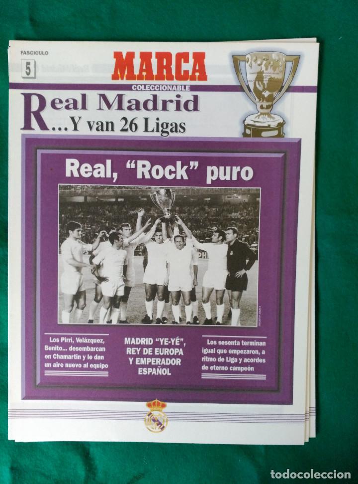 Coleccionismo deportivo: REAL MADRID DE 1928 A 1995 - 7 FASCICULOS - VER DESCRIPCION Y FOTOGRAFIAS - Foto 6 - 126168775