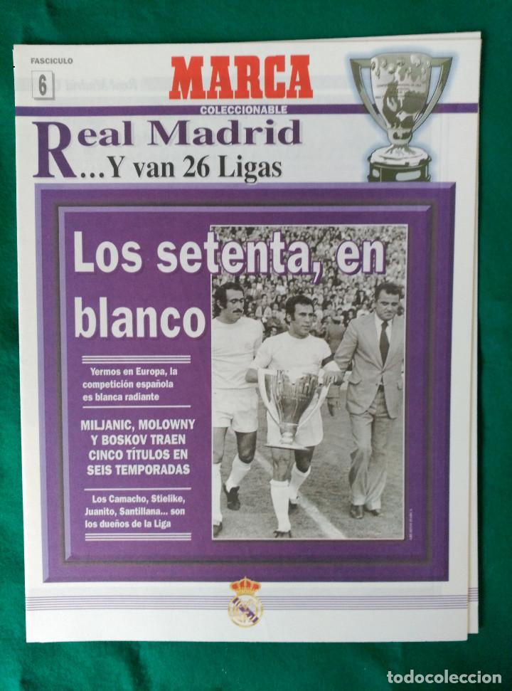 Coleccionismo deportivo: REAL MADRID DE 1928 A 1995 - 7 FASCICULOS - VER DESCRIPCION Y FOTOGRAFIAS - Foto 7 - 126168775