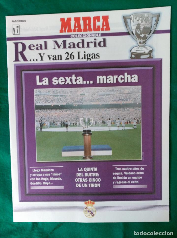 Coleccionismo deportivo: REAL MADRID DE 1928 A 1995 - 7 FASCICULOS - VER DESCRIPCION Y FOTOGRAFIAS - Foto 8 - 126168775