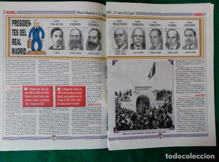 Coleccionismo deportivo: REAL MADRID DE 1928 A 1995 - 7 FASCICULOS - VER DESCRIPCION Y FOTOGRAFIAS - Foto 9 - 126168775