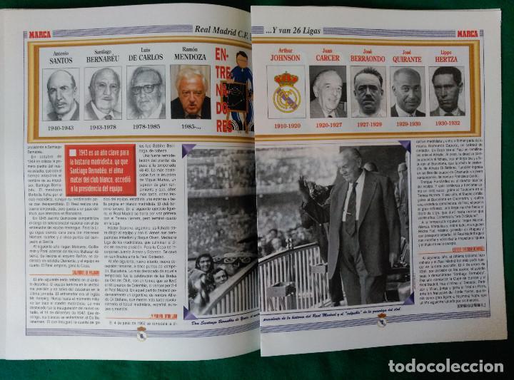 Coleccionismo deportivo: REAL MADRID DE 1928 A 1995 - 7 FASCICULOS - VER DESCRIPCION Y FOTOGRAFIAS - Foto 10 - 126168775