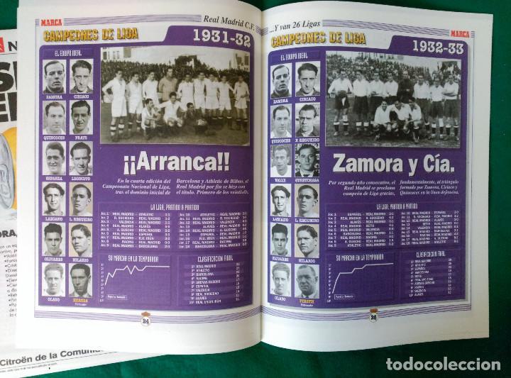 Coleccionismo deportivo: REAL MADRID DE 1928 A 1995 - 7 FASCICULOS - VER DESCRIPCION Y FOTOGRAFIAS - Foto 15 - 126168775