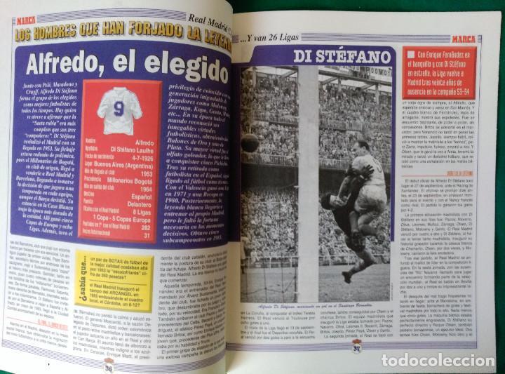 Coleccionismo deportivo: REAL MADRID DE 1928 A 1995 - 7 FASCICULOS - VER DESCRIPCION Y FOTOGRAFIAS - Foto 16 - 126168775