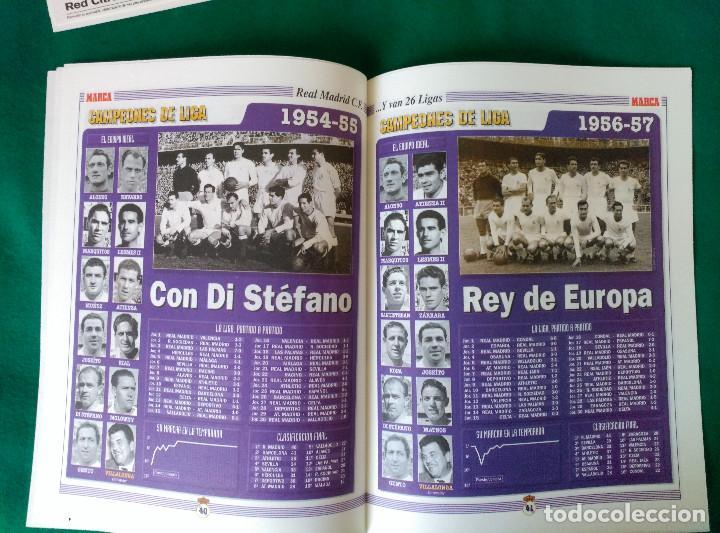 Coleccionismo deportivo: REAL MADRID DE 1928 A 1995 - 7 FASCICULOS - VER DESCRIPCION Y FOTOGRAFIAS - Foto 18 - 126168775